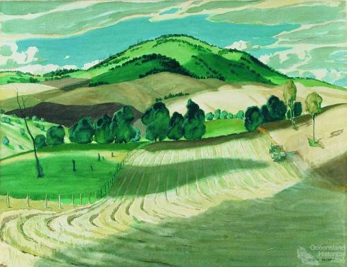Harvesting scene c1956