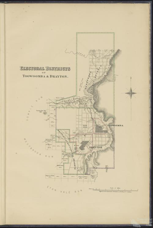Electoral Districts of Toowoomba & Drayton