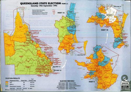 Queensland state election, 1992
