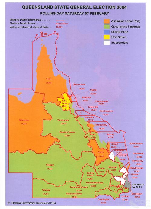 Queensland State election, 2004