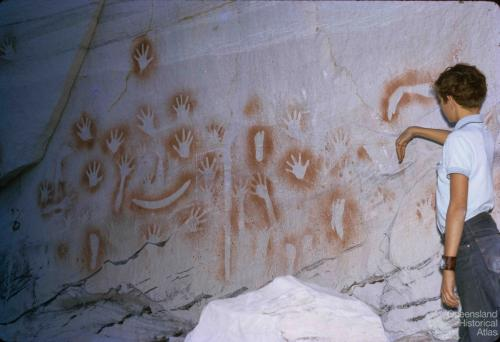 Aboriginal art, Carnarvon Gorge National Park, 1971