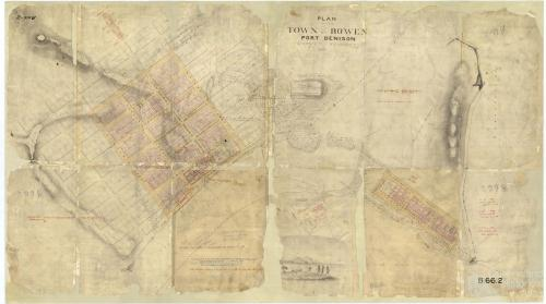 Plan of Bowen, 1861