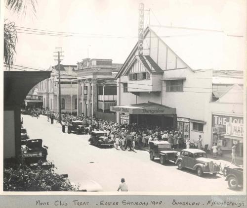 Maryborough Bungalow theatre, 1948