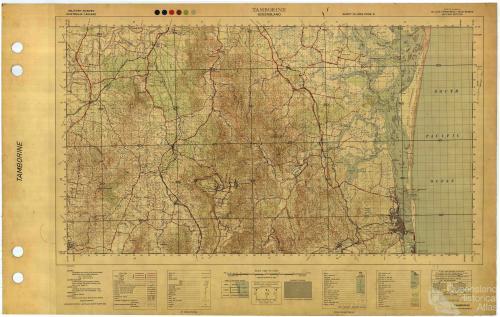 Military survey, Tamborine, 1954