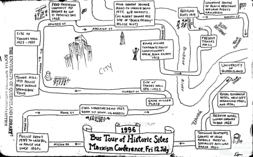Bus tour historic sites, 1996