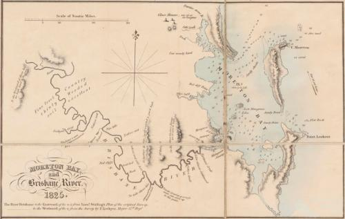 Moreton Bay and Brisbane River, 1825