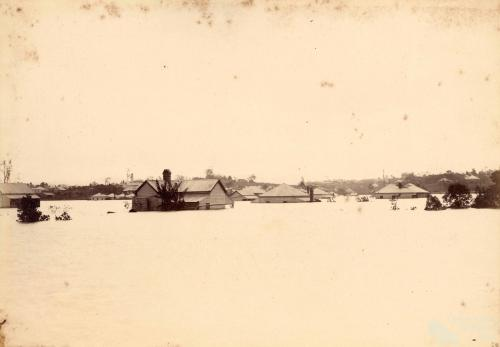 1893 flood, Brisbane River