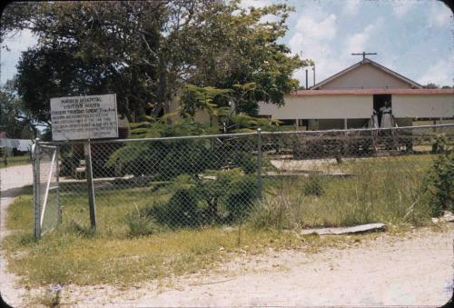 Waiben Hospital, Thursday Island, 1958