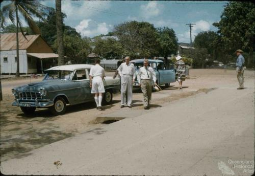 Governor of Queensland, Sir Henry Abel Smith, visits Thursday Island, 1958