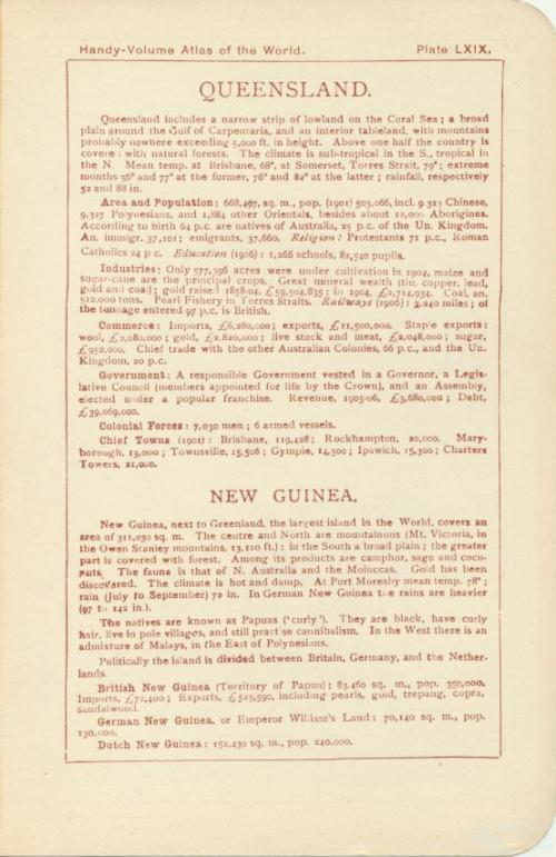 Queensland, 1908