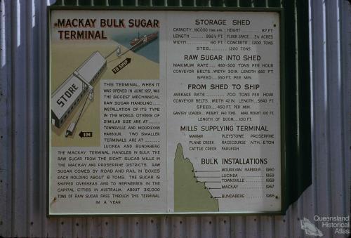 Sugar terminal, Mackay, c1960