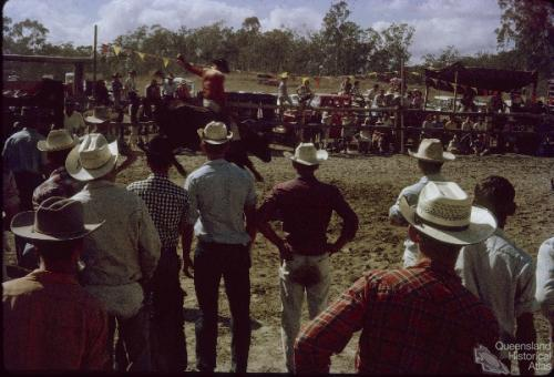 Hervey Range rodeo, Thuringowa, 1965