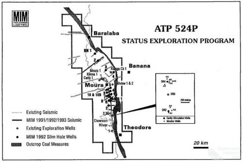 Status Exploration Program, Dawson River, 1991