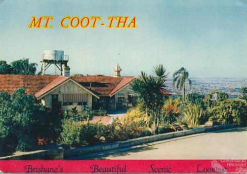 Mt Coot-tha Brisbane's beautiful scenic lookout, c1958