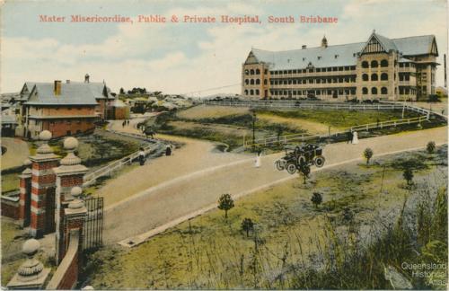Queensland hospitals, postcards