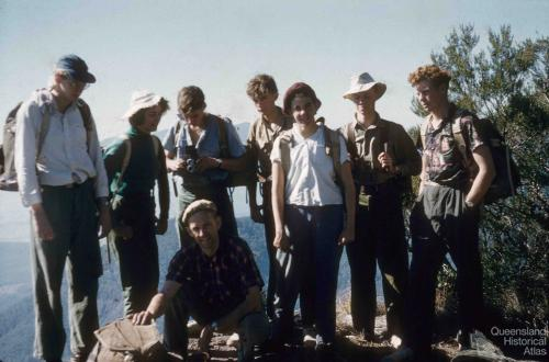 Bushwalking Club, University of Queensland, 1958-59