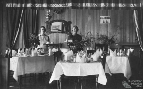 Refreshment Room, Esk, c1920