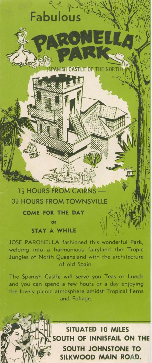 Paronella Park, Spanish Castle of the North, 1953