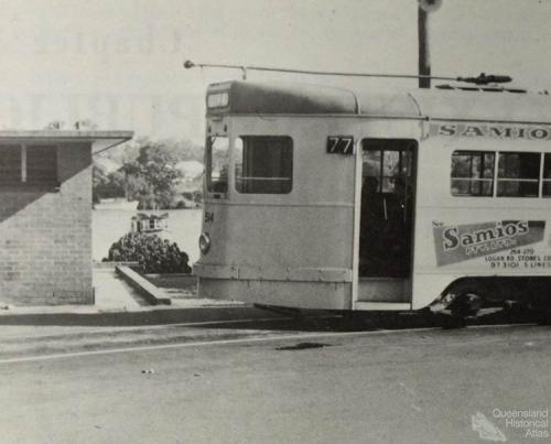 West End tram terminus, 1965