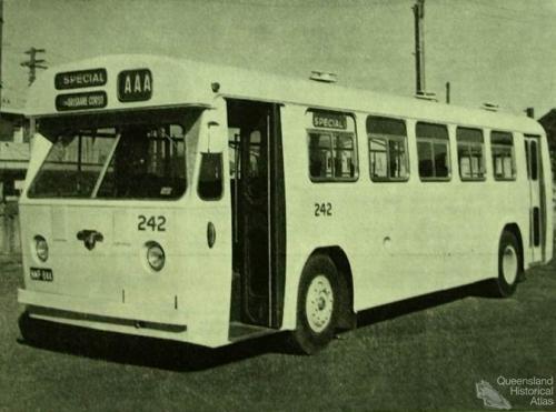 Brisbane bus, 1961