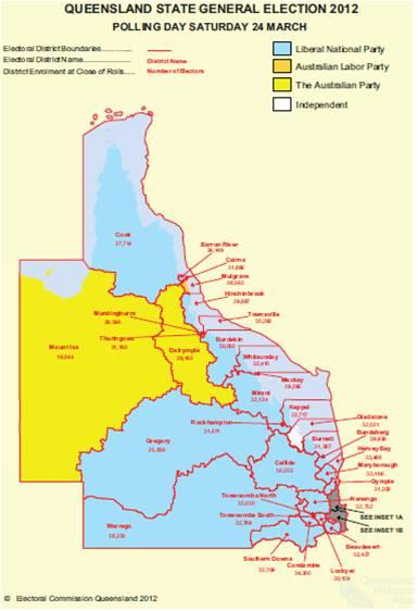 Queensland State election, 2012