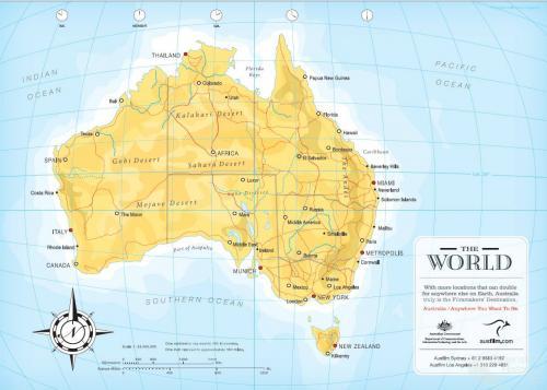 Australia, anywhere you want to be, AusFilm, 2006