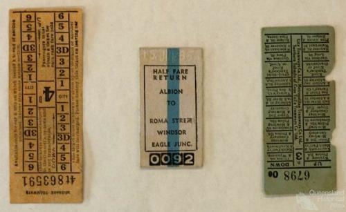 Tram tickets, various