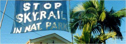 Stop Skyrail in National Park, 1994