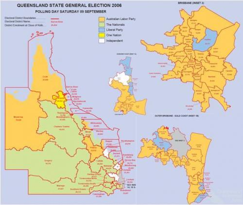 Queensland State election, 2006