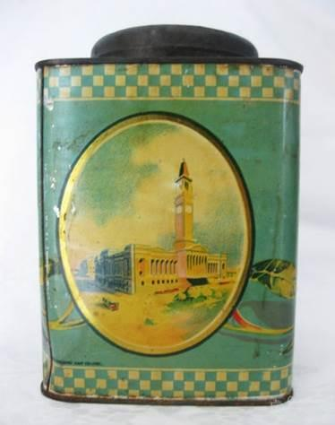 Webster's Biscuits tin