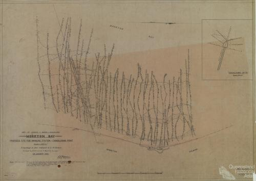 Proposed site for whaling station, Tangalooma, 1952
