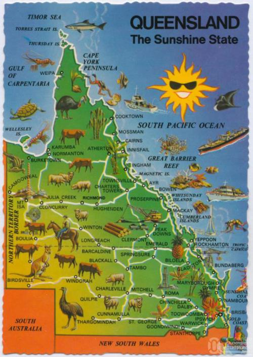 Queensland the Sunshine State, 1973