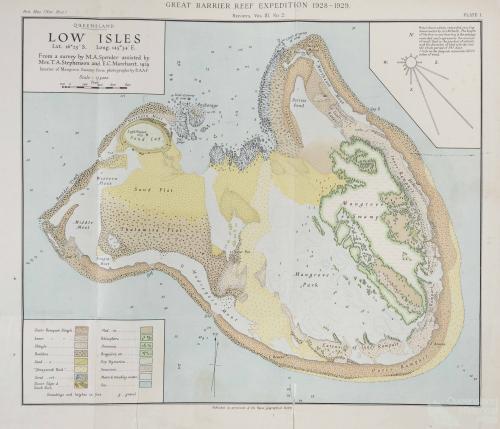 Low Isles, 1929