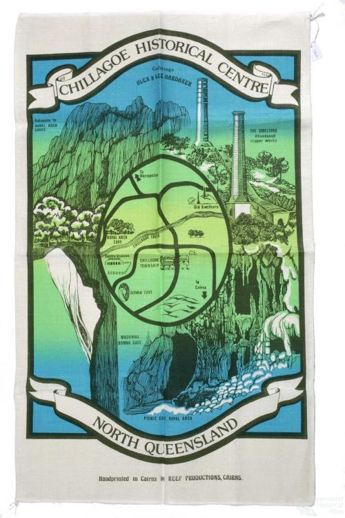 Tea-towel: Chillagoe Historical Centre