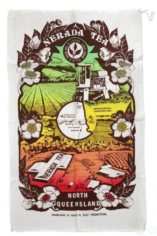 Tea-towel: Nerada Tea