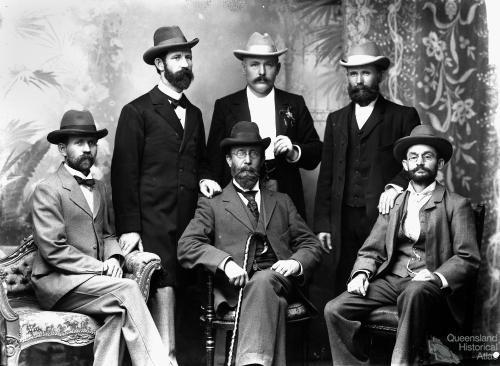 Members of the Danish Community, Brisbane c1900