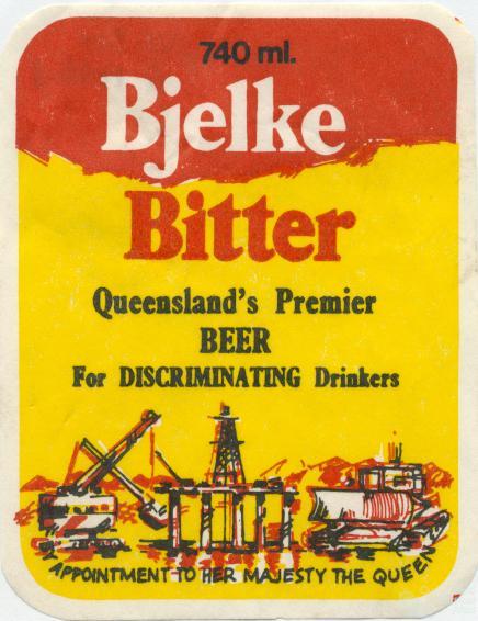 Bjelke Bitter, c1970s