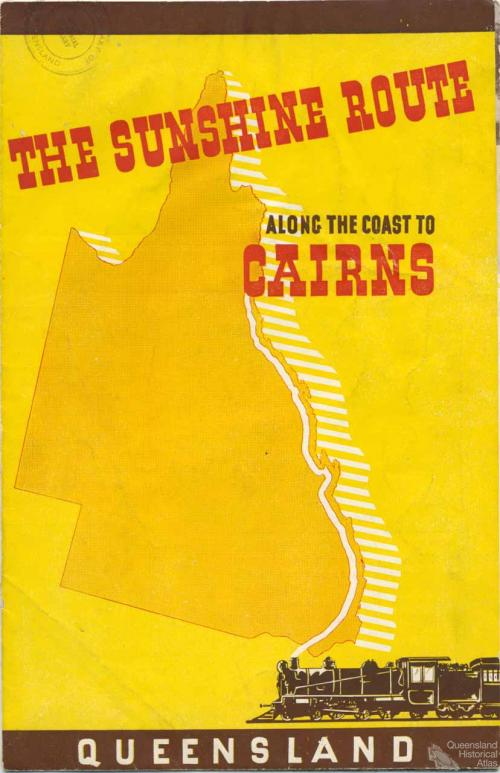 The Sunshine route along the coast to Cairns, 1936