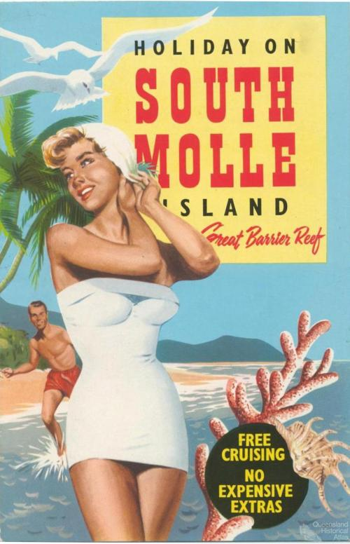 Holiday on South Molle Island, c1950