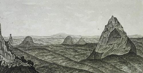 [Glass House Mountains], 1853