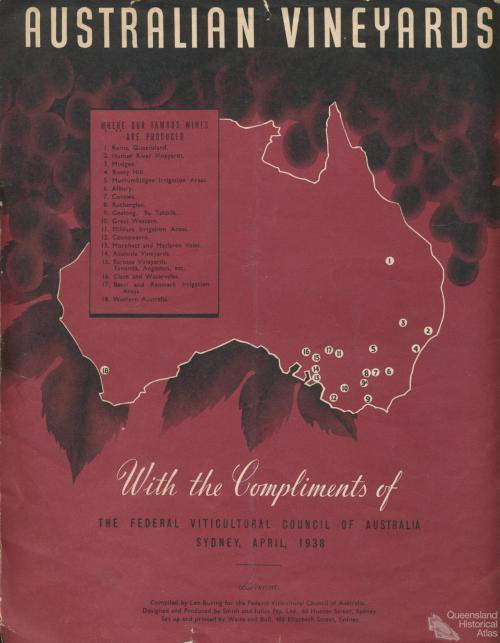 Australian Vineyards, 1938