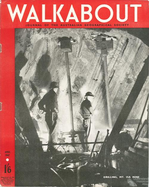 Walkabout cover, April 1947