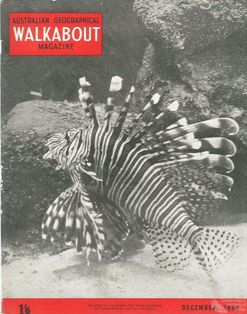 Walkabout cover, December 1950