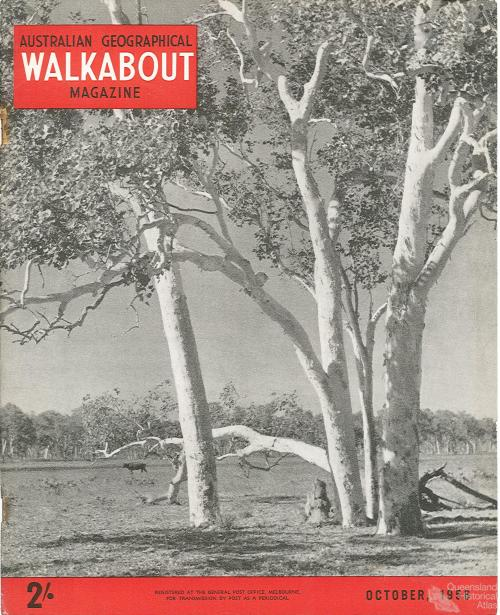 Walkabout cover, October 1956