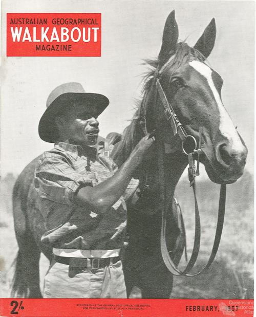 Walkabout cover, February 1957