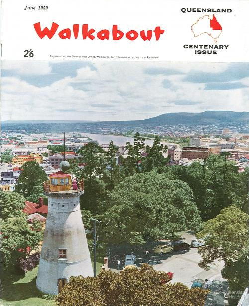 Walkabout cover, June 1959