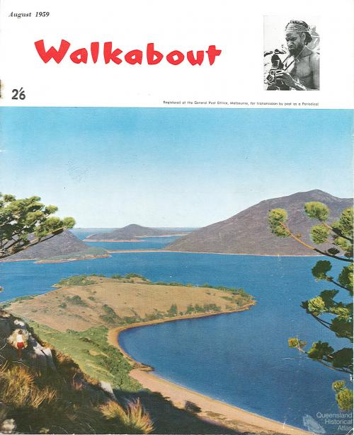 Walkabout cover, August 1959