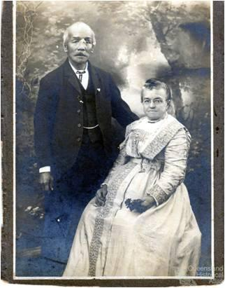 Jimmy and Evelina Ah Foo, c1900