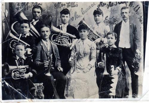 Affoo Family Band, c1894