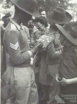 Indian soldier, Brisbane 1944